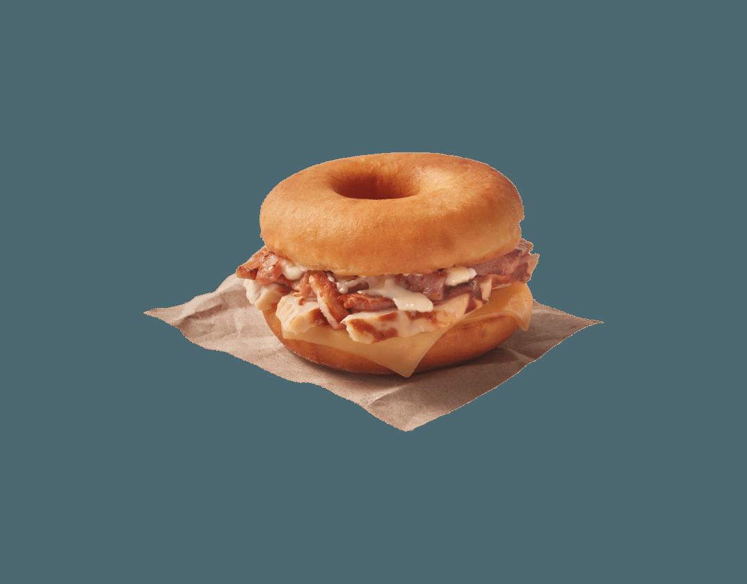 Gourmet Dunkin Sandwich César